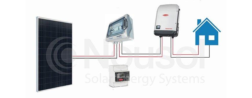 Kits fotovoltaicos monofásicos